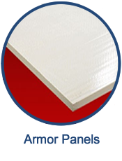 GEF can custom manufacture armor panels for ballistic and storm protection.