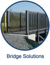 GEF custom builds non-corrosive, non-conductive, light weight bridges