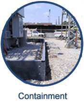 GEF's containment systems provide secure containment of liquids or solids that is long-lasting and durable