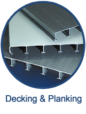 GEF provides custom-designed decking and planking that provides a long lasting, durable walking surface