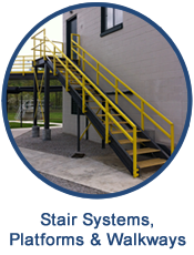 GEF designs platforms and stair systems for a variety of applications
