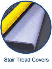 GEF's molded fiberglass stair tread covers provide an easy, cost-efficient way to increase the safety of stairways