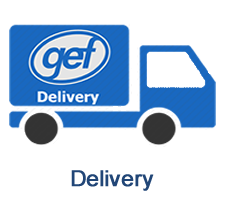 GEF delivers fiberglass products (FRP) to a variety of locations throughout the United States.
