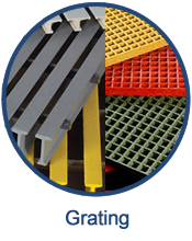 Fiberglass grating is a lightweight, durable option for a variety of industrial environments.