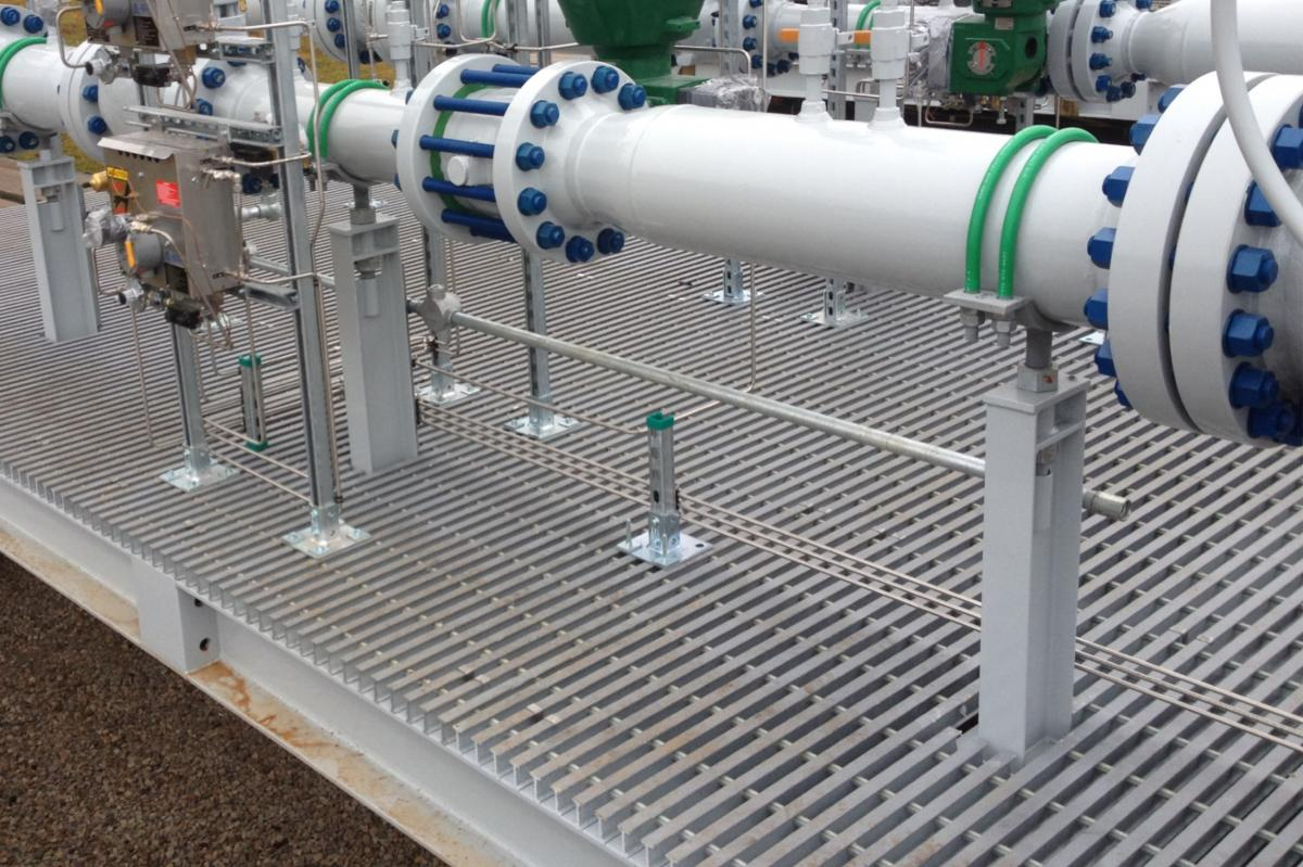 Oil And Gas Well Metering Skids Gef Inc
