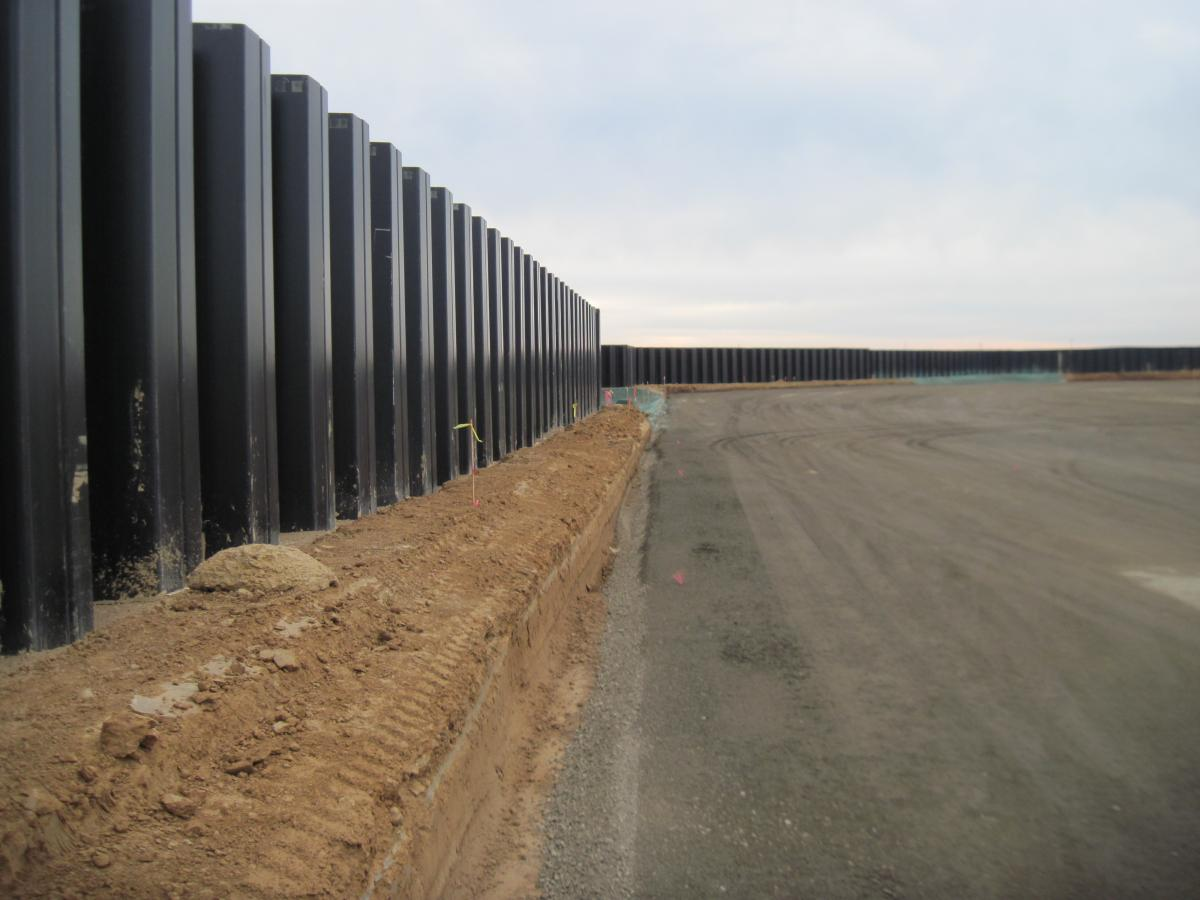 UltraComposite Sheet Piling is often specified for seawalls in areas that cannot tolerate the environmental impact of toxic coatings or continual maintenance.