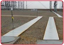 Only 12 tons of UTILICOVER® panels replaced 70 tons of concrete covers.
