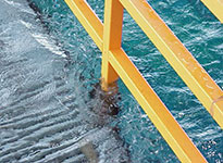 Wave Zone Grating and Guardrail/Handrail