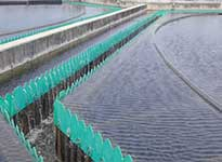 Corrosion-resistant Weirs, Scum Baffles & Flight Channel